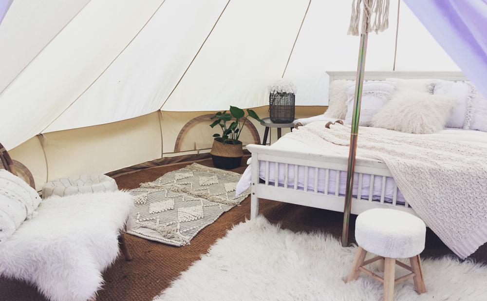 Black Deer Festival Fancy Camping