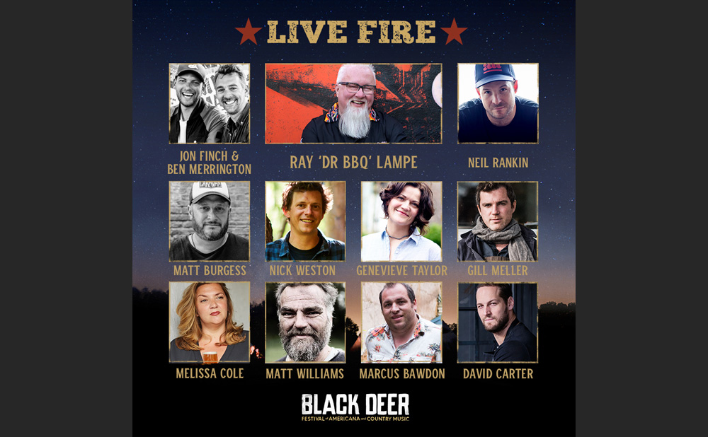 Black Deer Festival Live Fire Chefs
