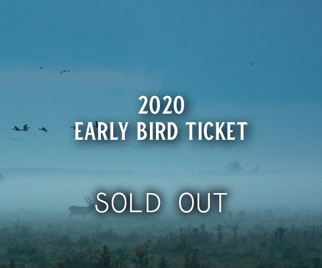 SOLD OUT: Early Bird Tickets