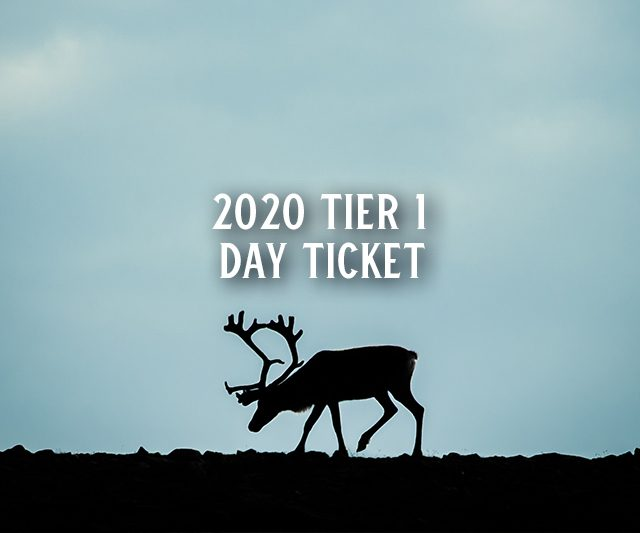 2020 Tier 1 Day Ticket