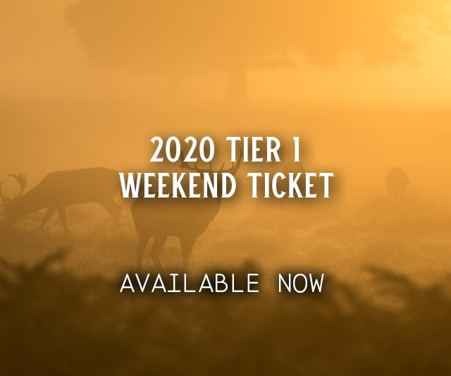 2020 Tier 1 Weekend Ticket