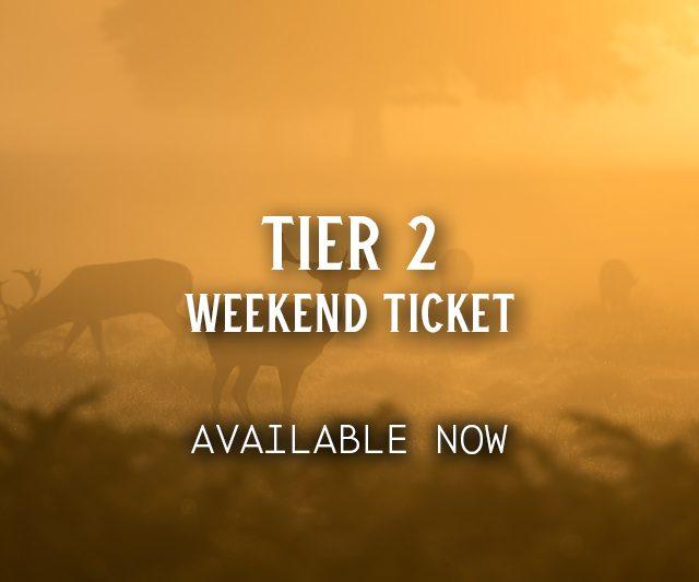 Tier 2 Weekend Ticket