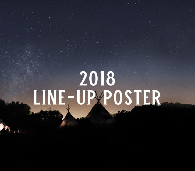 2018 Line-up Poster
