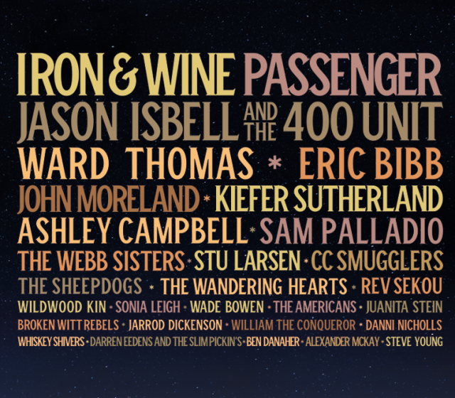 Line-up to date