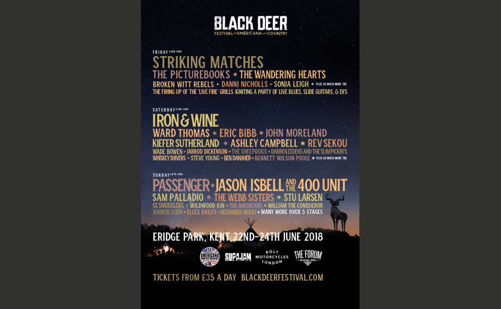 Black Deer Festival Day Tickets