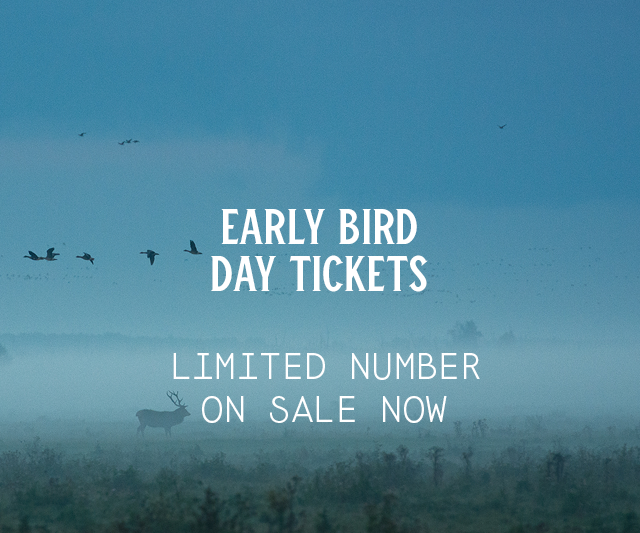 Early Bird Day Tickets