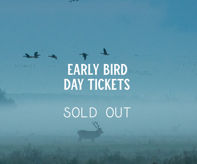 Early Bird Day Tickets (Sold Out)