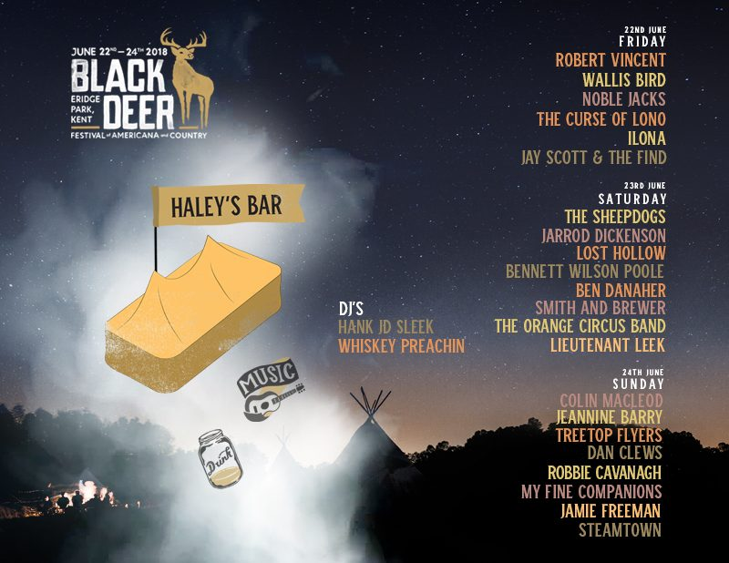 Black Deer Haleys Bar