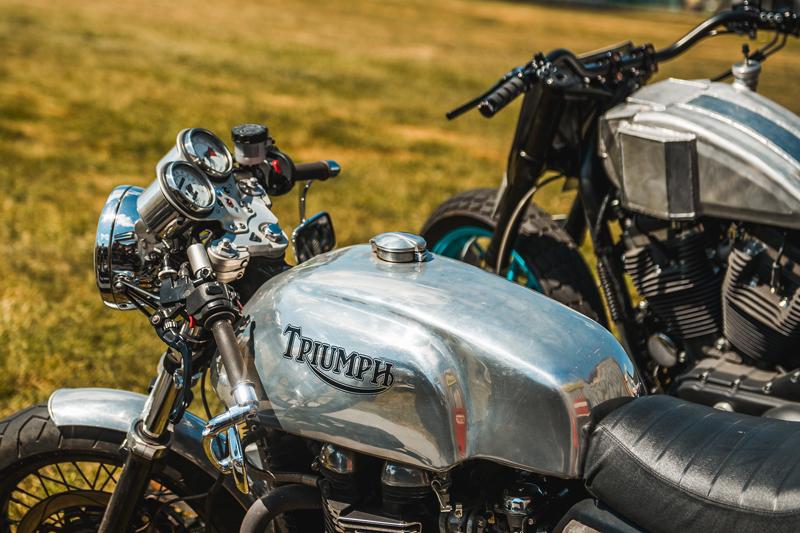 Custom built motorcycles
