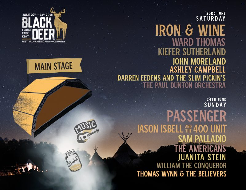 Black Deer Main Stage