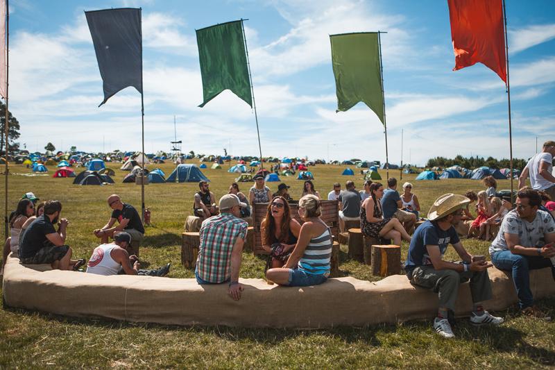 Black Deer Festival Camping