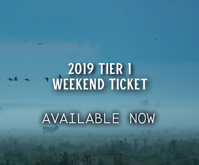 Tier 1 Weekend Tickets