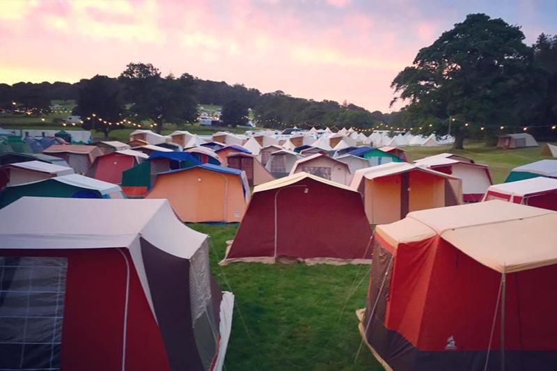 Black Deer Pre-Pitched Camping