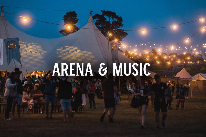 Black Deer Festival Arena and Music Info