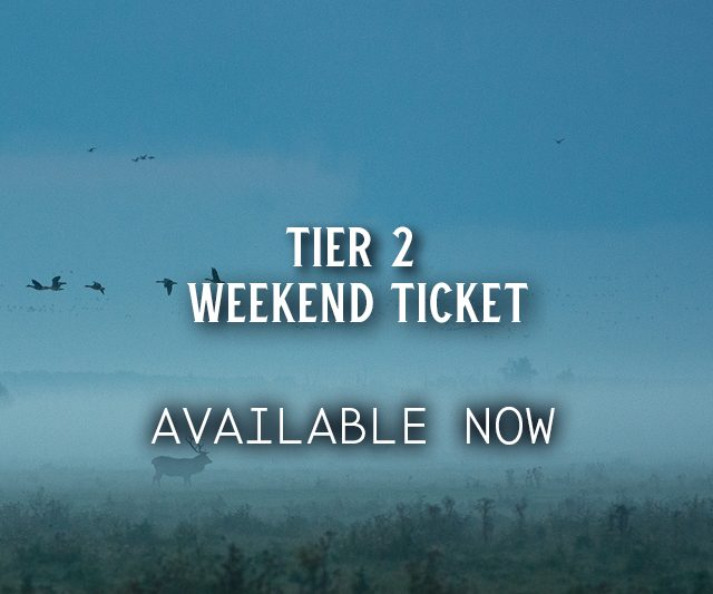 Tier 2 Weekend Tickets