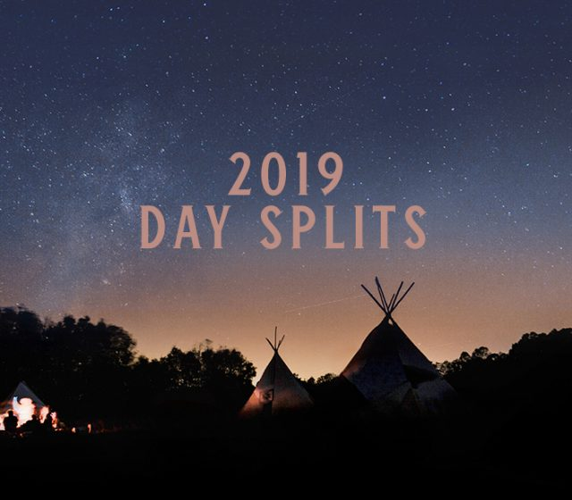 2019 Day Splits