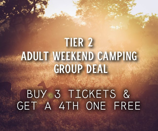 Weekend Camping Group Deal