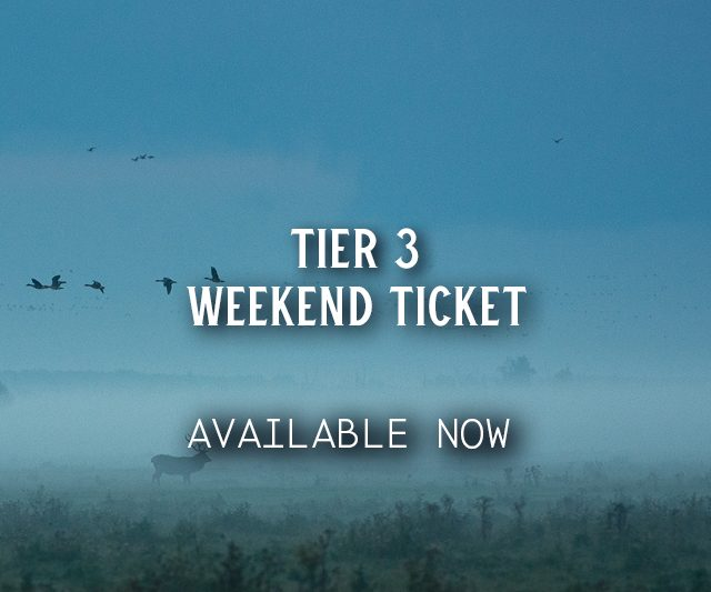 Tier 3 Weekend Tickets