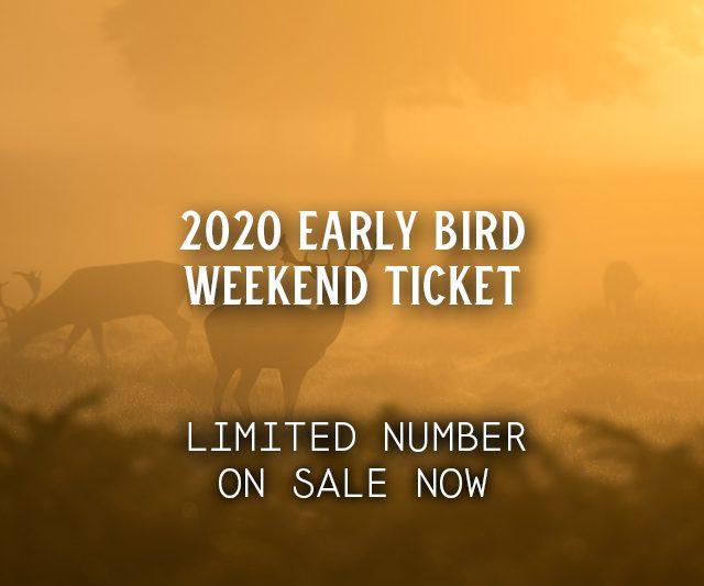 2020 Early Bird Weekend Ticket