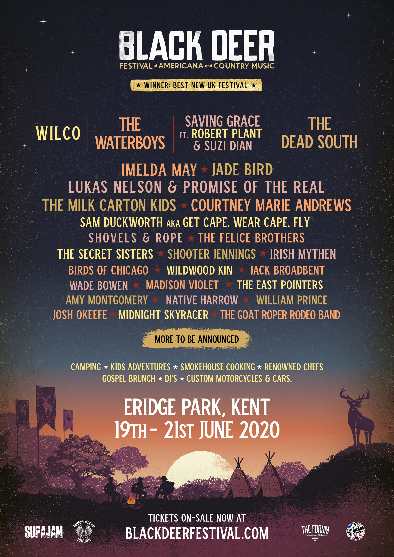 Black Deer Festival 2020 Lineup