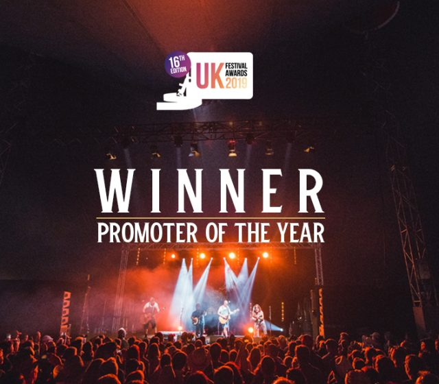 Winner! UK Festival Awards 2019