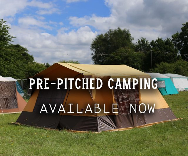 Pre-Pitched Camping