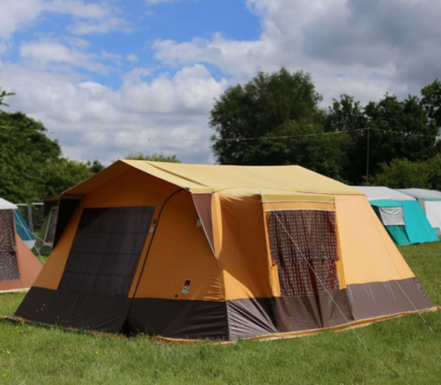 Pre-Pitched Camping Now Available