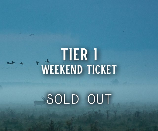 SOLD OUT: Tier 1 Tickets
