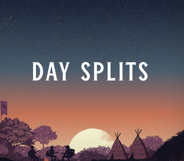 Day Splits Line-Up Poster