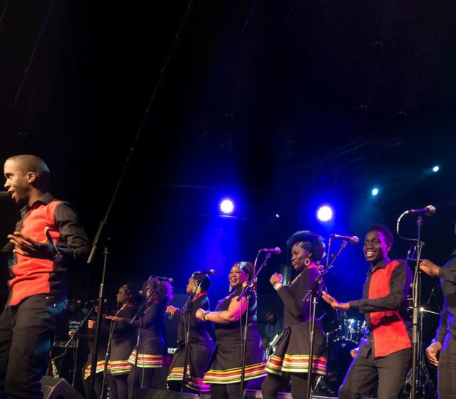 The London Gospel Choir interprets Paul Simon's Graceland