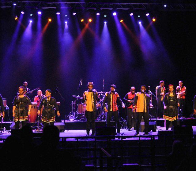 The London Gospel Choir interprets Paul Simon's Graceland