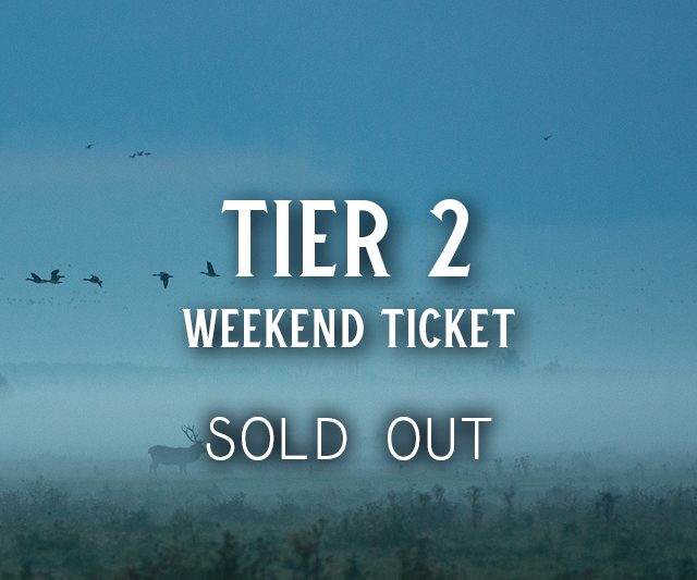 SOLD OUT: Tier 2 Tickets